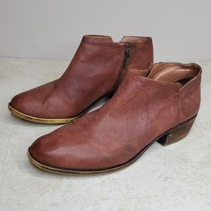 Lucky Brand Bardon Ankle Bootie Size 8.5